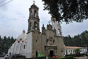 Villa del Carbón - Temple of Nuestra Señora Santa María de la Peña de Francia