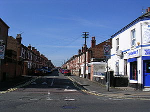 Normanton, Derby - Image: Pear Tree terrace