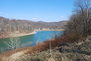 West Virginia Division of Natural Resources - Mason Lake at Pedlar Wildlife Management Area