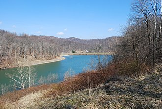 West Virginia Division of Natural Resources - Mason Lake at Pedlar Wildlife Management Area