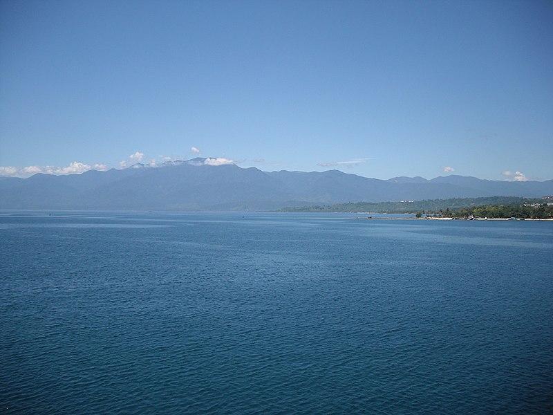 File:Pegunungan Arfak from the Cenderawasih Bay.jpg