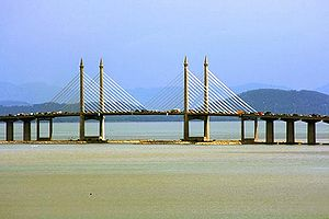 The Penang Bridge was the first expressway in ...