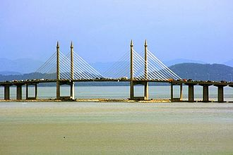 Penang Bridge - Image: Penang Bridge