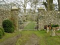 Penfound Manor - gates - geograph.org.uk - 709689.jpg