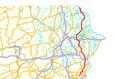 Pennsylvania Route 191 map.png