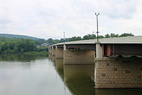 Pennsylvania Route 54 crossing of the Susquehanna River.JPG