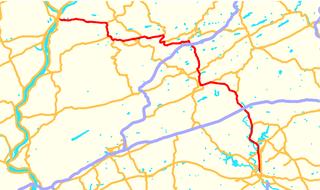 Pennsylvania Route 61 highway in Pennsylvania