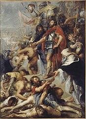Judas Macchabée priant pour les défunts