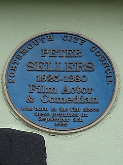 Peter sellers (portsmouth city)