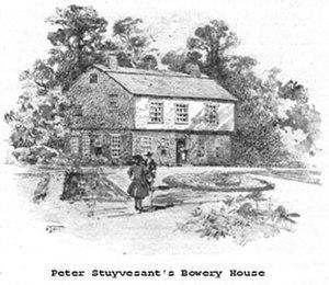 Peter Stuyvesant - Stuyvesant's house