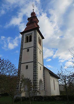Pevno - Saint Ursula's Church