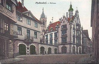 Pfullendorf - The Town Hall circa 1905