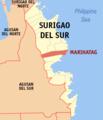 Ph locator surigao del sur marihatag.png