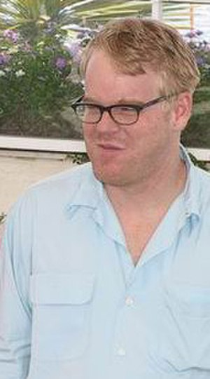 Philip Seymour Hoffman - Hoffman at Cannes in 2002 promoting Punch-Drunk Love
