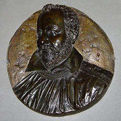 Medallion of Philippe Desportes