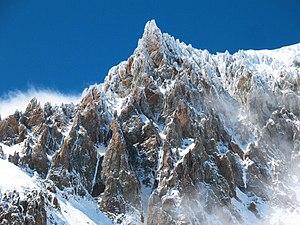 Aysén Region - Image: Picacho en el cerro San Lorenzo, Región de Aysén