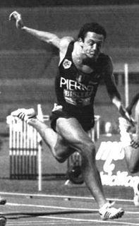 Pierfrancesco Pavoni Italian sprinter