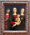 Pietro perugino, madonna col bambino tra i santi g.battista e caterina d'alessandria, 1523.JPG