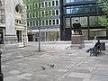 Pigeons pecking outside The Royal Exchange - geograph.org.uk - 1257815.jpg