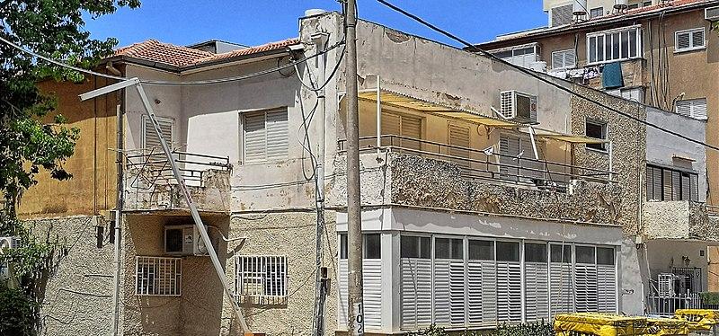 הבית ברחוב דרור 11 בראשון לציון