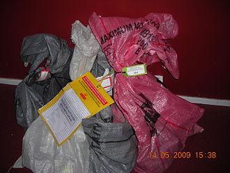 Mail sack - Royal Mail mail sacks
