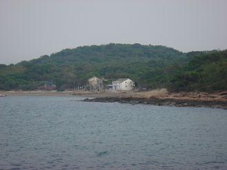 Tung Ping Chau - View of the village of Sha Tau, on Ping Chau.