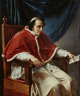 Vincenzo Camuccini - Portrait of Pope Pius VII