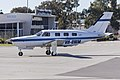 Piper PA-46-350P Malibu Mirage (VH-UWM) taxiing at Wagga Wagga Airport.jpg