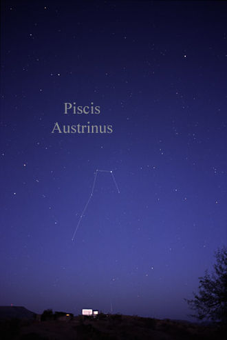 Piscis Austrinus - The constellation Piscis Austrinus as it can be seen by the naked eye.