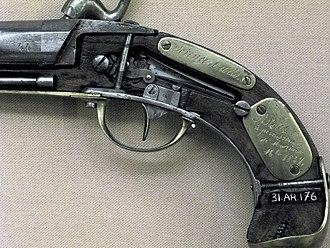 Caplock mechanism - Image: Pistol img 3011