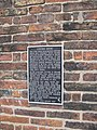 Plaque on Corunna House, Ousegate - geograph.org.uk - 1319148.jpg