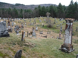 Plymouth Notch Cemetery - Image: Plymouth Notch Cemetery