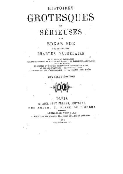 File:Poe - Histoires grotesques et sérieuses.djvu