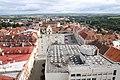 Pohled z radniční věže na obchodní dům Dyje (4979980891).jpg
