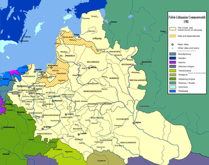 Andrew Báthory - Polish–Lithuanian Commonwealth in 1582