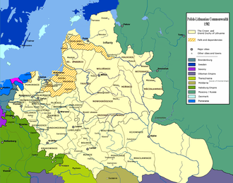 Administrative division of Poland and Lithuania