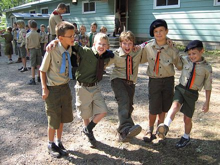 Cub Camp, Crivitz, Wisconsin, 2007 PolishCubScouts.jpg
