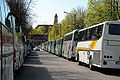 Polish tourist buses in Vilnius.jpg