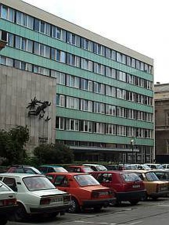 Magyar Rádió - The headquarters of the Hungarian Radio in Budapest