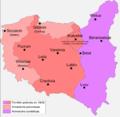 Polonha - Cambiaments territòriaus de Polonha en 1945.png