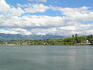 Polson, Montana - Polson, southern end of Flathead Lake