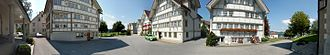 Stein, Appenzell - Image: Ponarama Stein AR