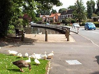 Walkington village in the United Kingdom