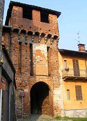 L'antico ingresso del castello