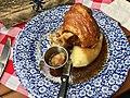 Pork knuckle at Munich Brauhaus South Brisbane 02.jpg