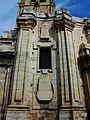 Portada barroca inacabada de l'església de les santes Justa i Rufina.JPG