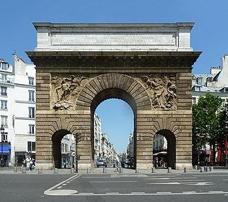 Porte Saint-Martin - Porte Saint-Martin (2014).