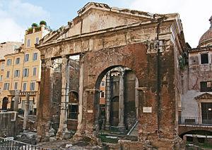 Porticus Octaviae - The Porticus Octaviae in modern times