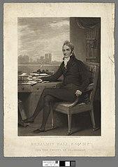 Benjamin Hall, Esqr. M.P. for the county of Glamorgan