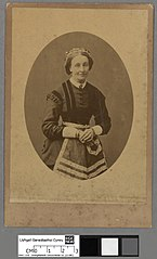 Female member of the Crawshay household